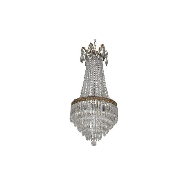 Waterfall and Cascade Chandelier c.1920 LC213862