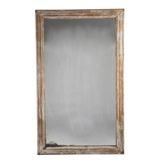 French Ripple Frame Mirror c.1860 MI715155