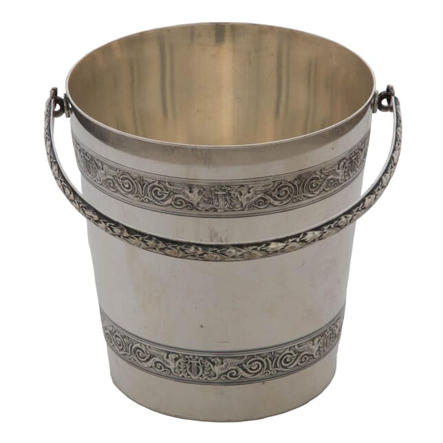 French Silver Plated Ice Bucket DA154178