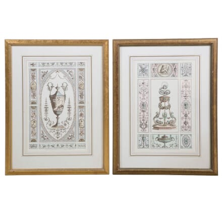 Pair of Vintage Engravings WD6357845