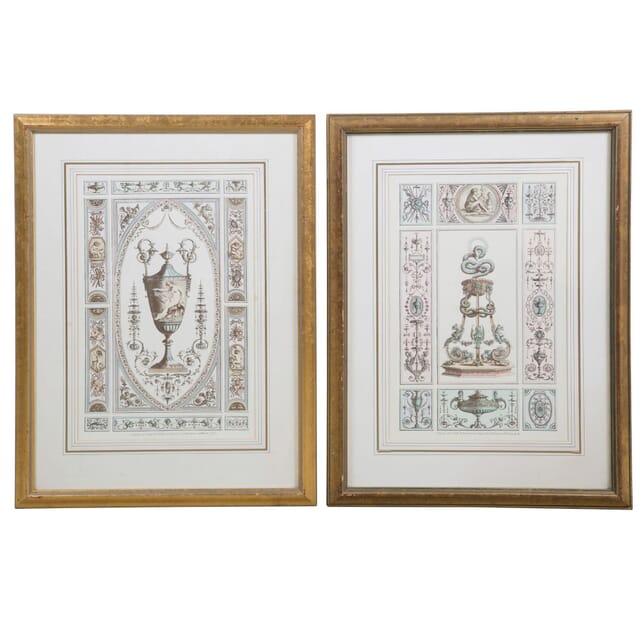Pair of Vintage Engravings WD6357845