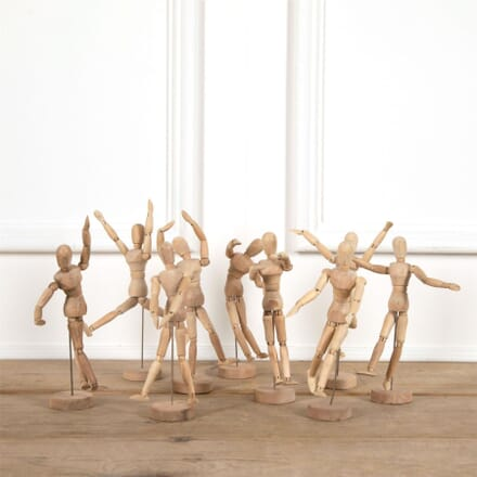 Wooden Articulated French Lay Figures DA4461517
