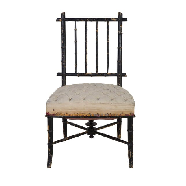 French Ebonised Chair CH6813260