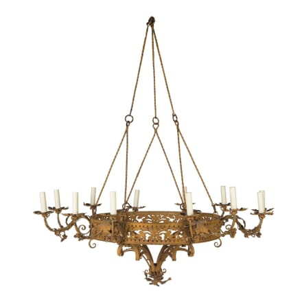 French Wrought Iron Chandelier LC5456693