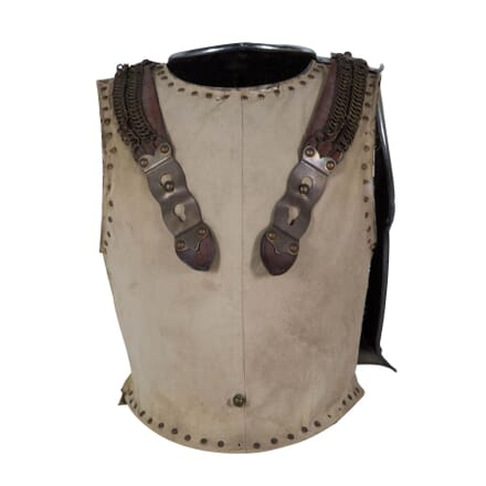 Eighteenth century British cavalry armour breastplate DA289189
