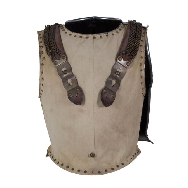 Eighteenth century British cavalry armour breastplate DA289189