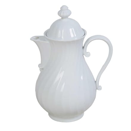 White French 'Cafetiere' With Lid DA4411260