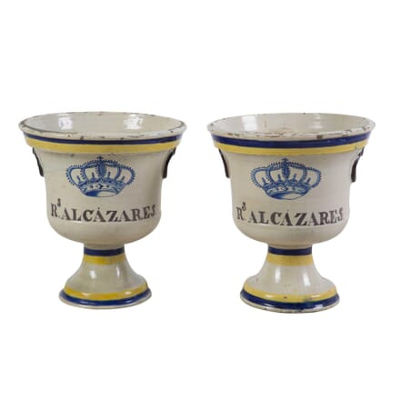 Pair of Urns from the Spanish Alcarzars Palace GA1313709