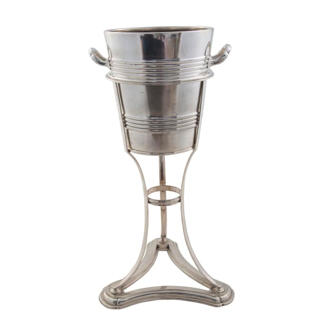Art Deco Silver Plated Bucket on Stand DA5856578