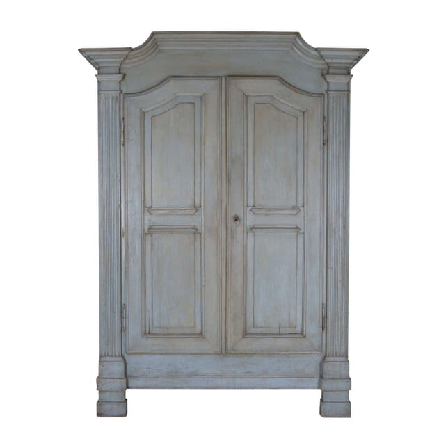 19th Century Painted Italian Armoire CU0159239