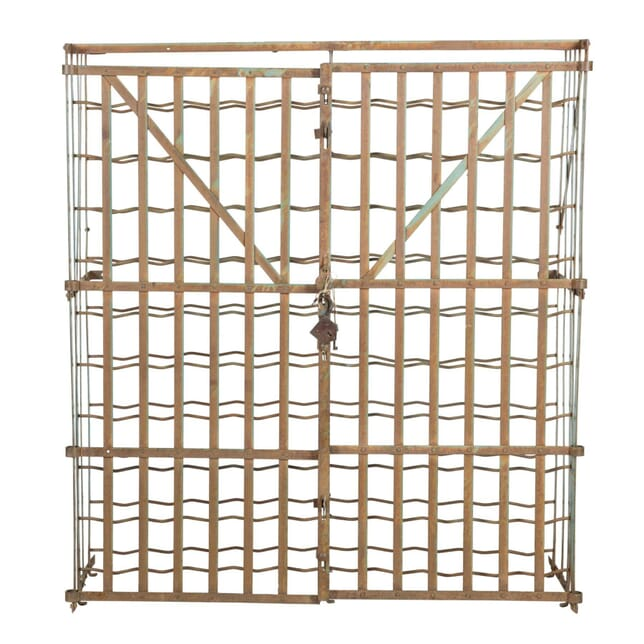 French Lockable Wine Cage DA1512257