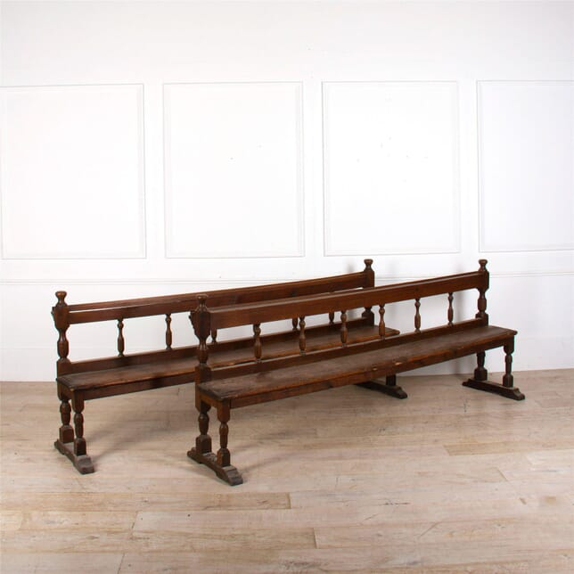 Pair Of 18th Century Church Pews SB287292