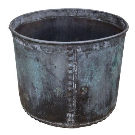 19th Century Rivetted Copper Planter GA1957969