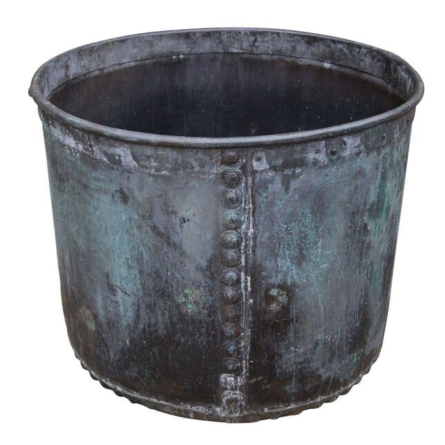 19th Century Rivetted Copper Planter GA1957969