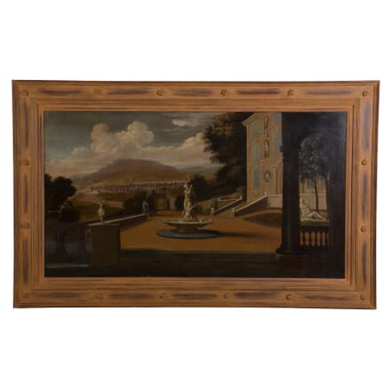 Palace Courtyard Painting WD168767