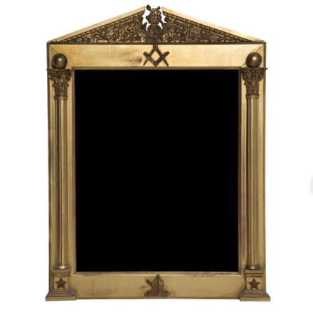 19th Century Masonic Mirror MI102121