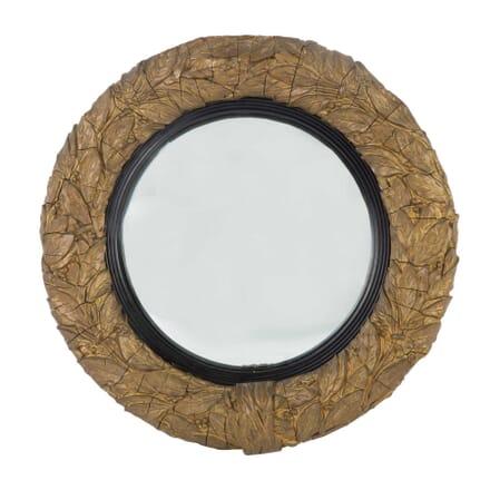 19th Cent French Gilt Gesso Convex Wall Mirror MI9912611