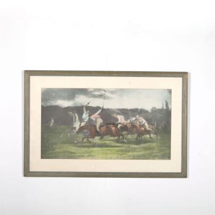Polo Colour Plate John Charles Dollman 1890 WD287573