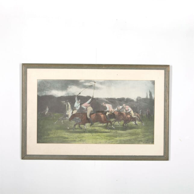 Polo Colour Plate John Charles Dollman 1890 WD287573