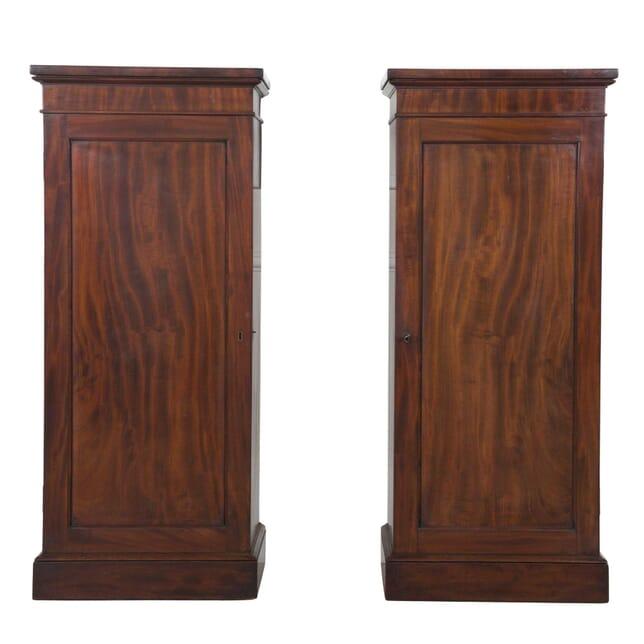 Pair of Mahogany Pedestal Cupboards OF0357333