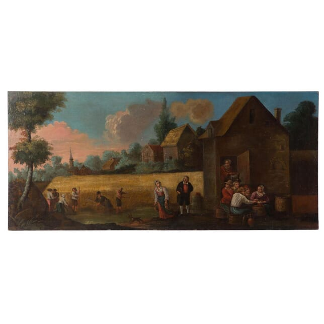 18th Century Oil on Canvas WD028920