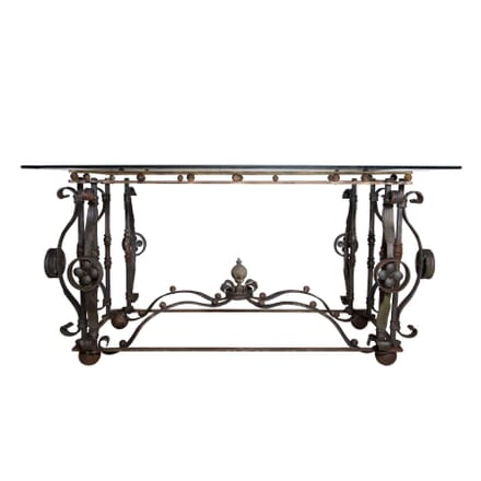 Austrian 19th  Century Wrought Iron Centre Table TC4058303