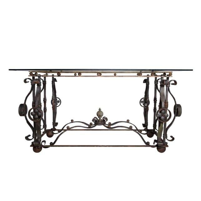 Austrian 19th  Century Wrought Iron Centre Table TC4058303