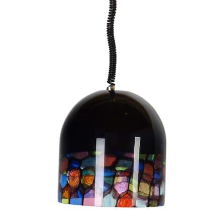 Multi Coloured Glass Ceiling Pendant LC3054617