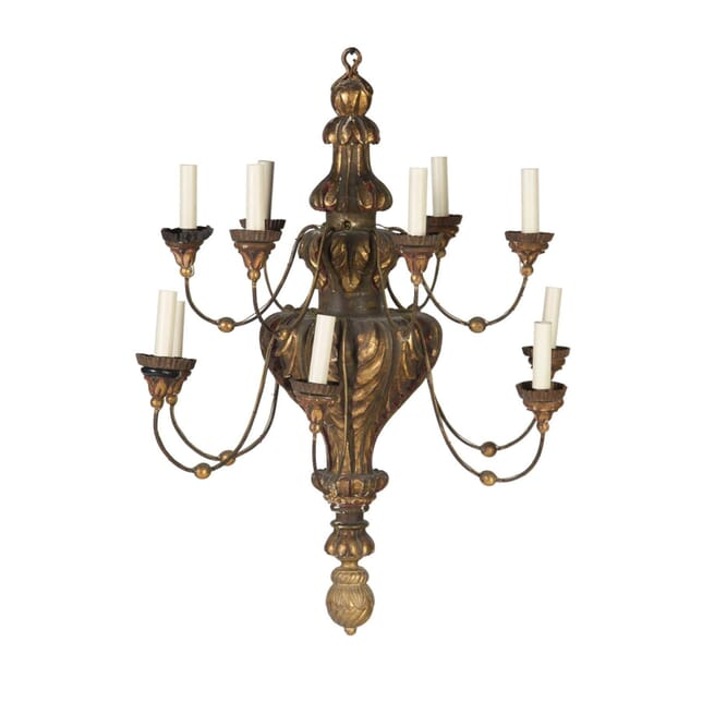 Italian 12 Light Chandelier LC5456703