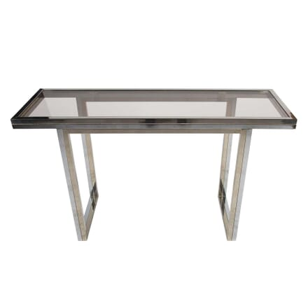 Bi-Coloured Metal Console Table CO0112364