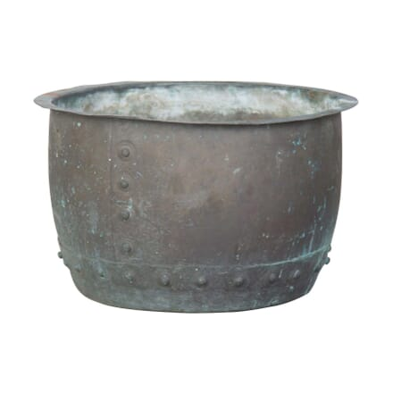 Riveted Copper Pot GA0856757