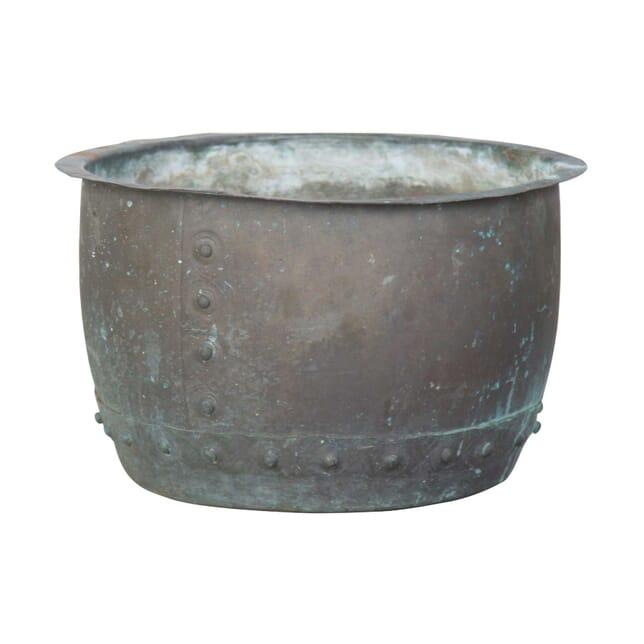Riveted Copper Pot GA0856757