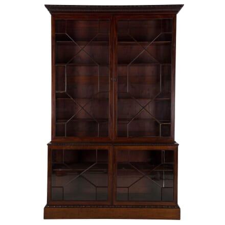 Chippendale Period Mahogany Bookcase BK105377