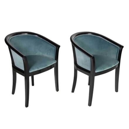 Pair of French Salon Chairs CH4853740
