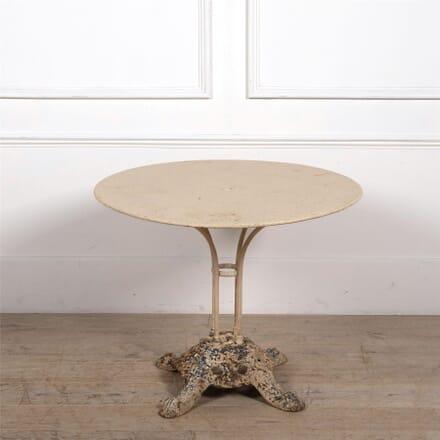 French Iron Garden Table GA1561899