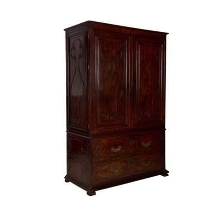 Anglo-Chinese Mahogany Cabinet CU274265
