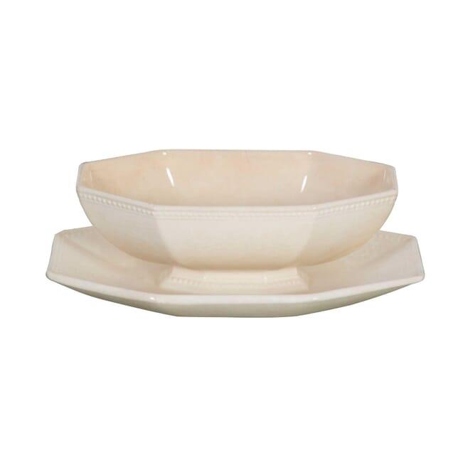 Creamware Sauce Boat DA0155563