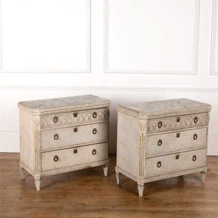 Pair of Gustavian Chests CC4362535