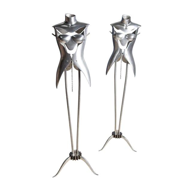 Pair of Aluminium Mannequins DA5355967