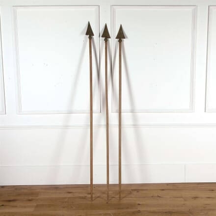 Set of Three French Flag Poles DA377769