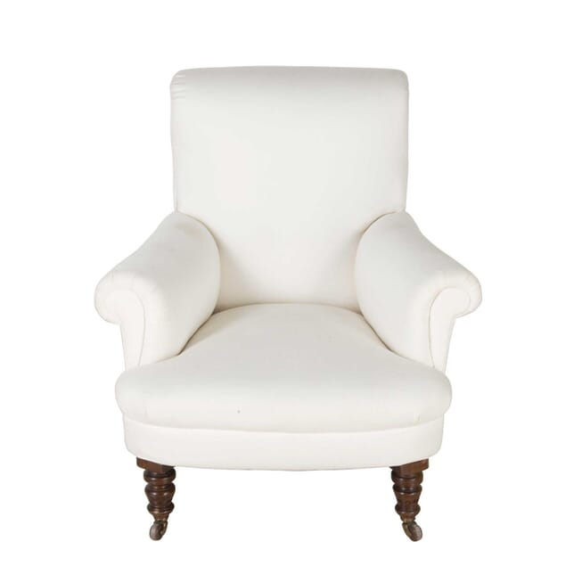 Victorian Armchair with Turned Legs CH7460507