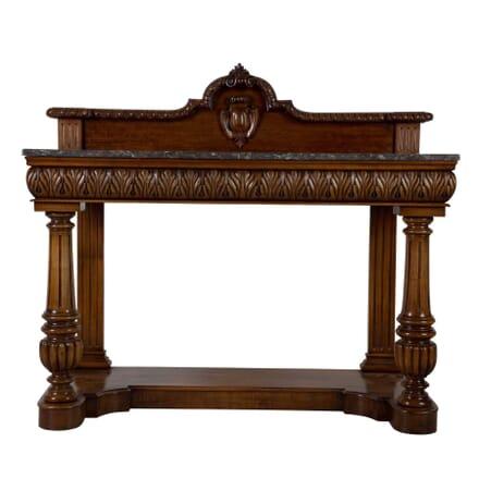 19th Century Althorp Hall Mahogany Console Table CO035281