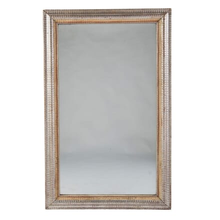 19th Century French Ripple Frame Mirror MI0154724