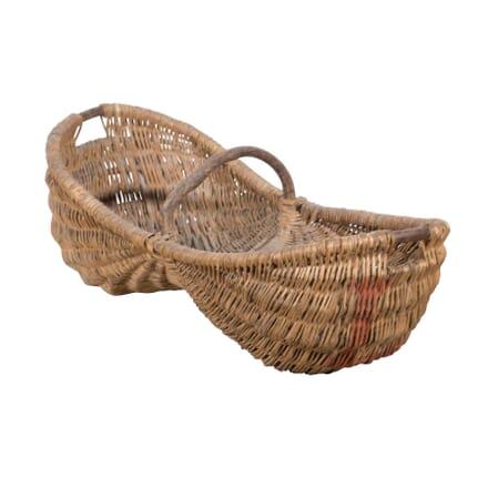 Large Wicker Grape Picking Baskets DA9058194