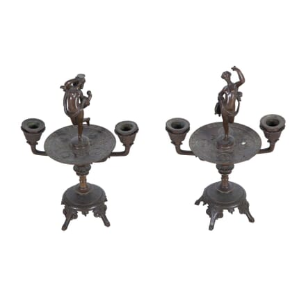 Pair of 2 Arm Candlesticks DA2312080
