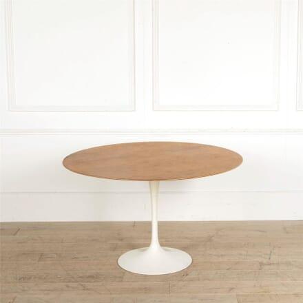 Original Eero Saarinen Tulip Dining Table For Knoll TD907666