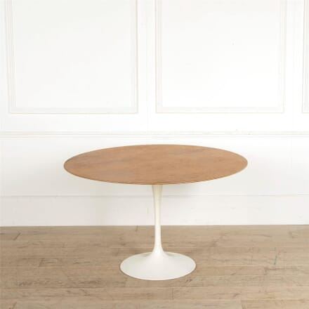 Original Eero Saarinen Tulip Dining Table For Knoll TD907666