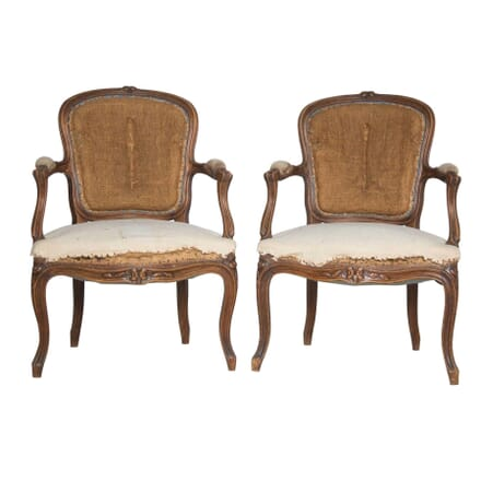 Pair of French Armchairs CH4757303