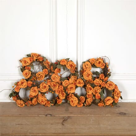 Vintage French  Florists Wreaths WD157715