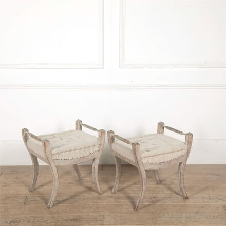 Pair of 19th century Swedish stools ST607648